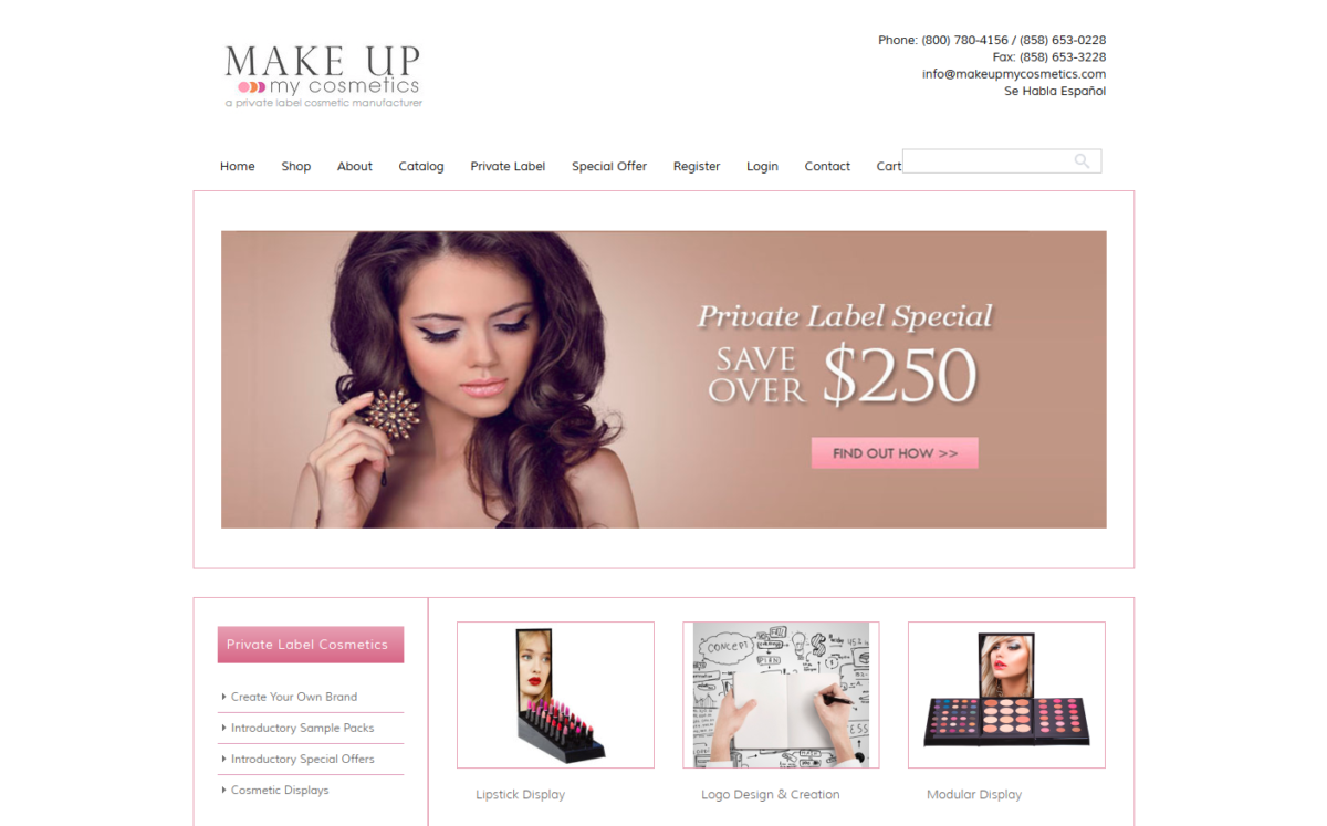 E-commerce Website, Catalog, Graphic Design San Diego, CA
