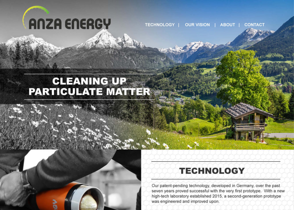 Anza Energy Rancho Santa Fe Web Design