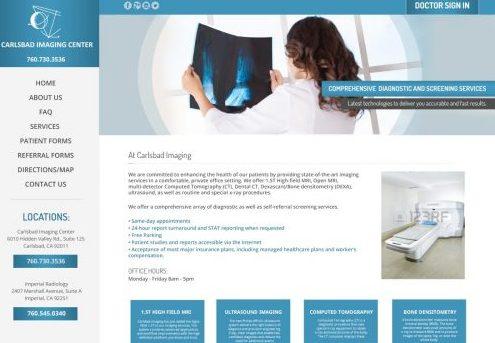 Medical Website Design in Carlsbad, CA