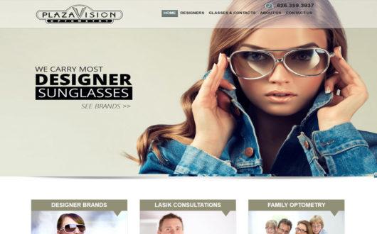 Webdesign for Optometrist