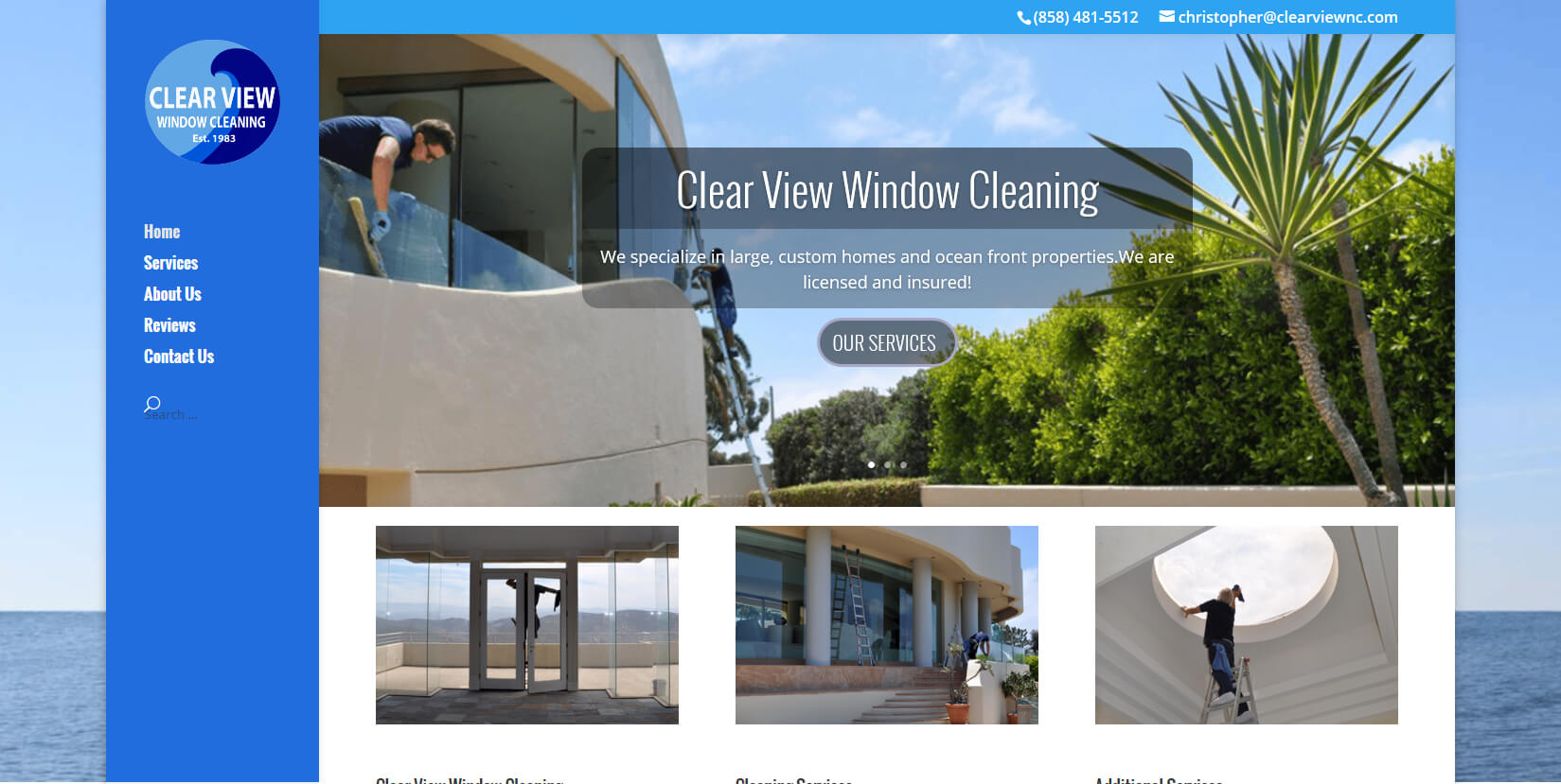 Website Design Rancho Santa Fe, CA