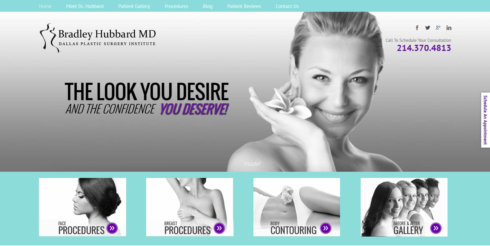 Web Design for Plastic Surgeon