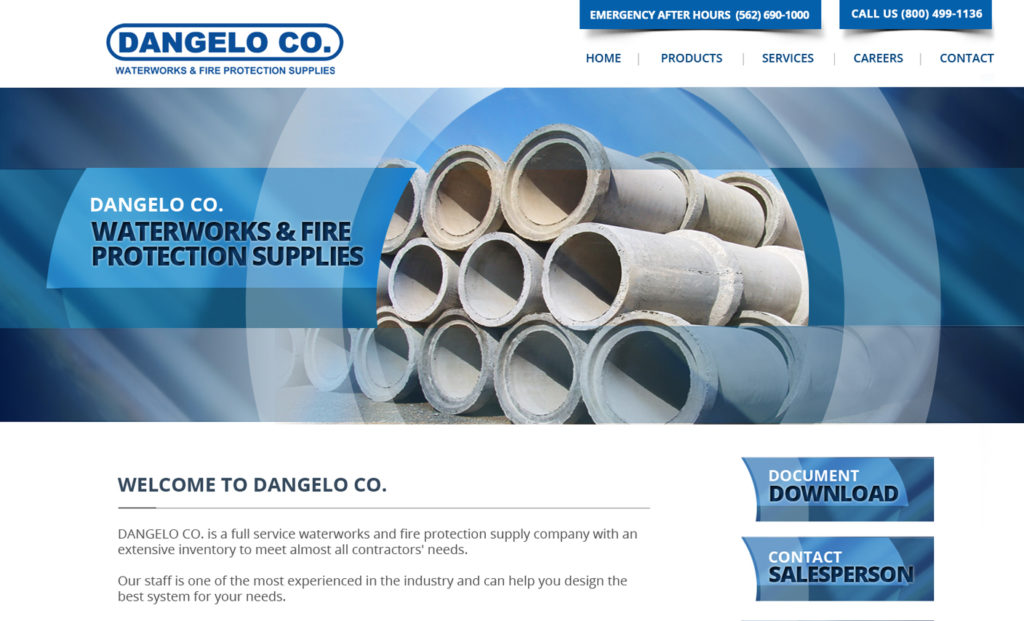 Website Design for Pipeline Co