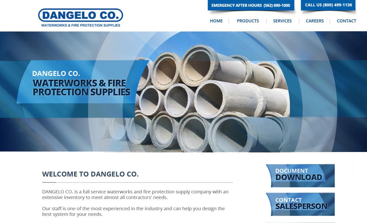 Website Design for Pipeline Co