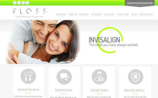 Website for Dentist in Texas