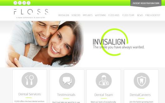 Website for Dentist in Texas