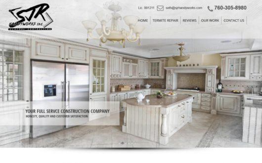 Contractor Website in Vista