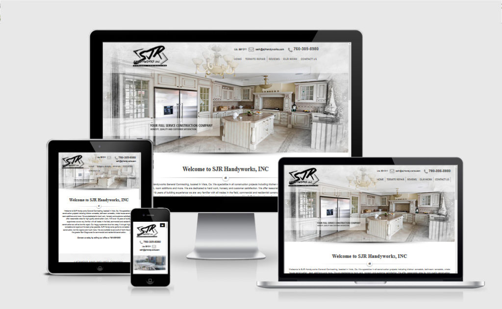 Contractor Website Vista